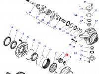Планетарная (сателлитная) шестерня бортового редуктора трактора Challenger — F712301020240