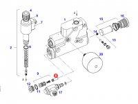 Фильтр гидравлического клапана трактора Fendt — F716961020220