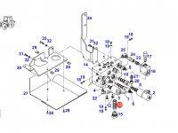 Гидравлический масляный фильтр трактора Fendt — F718400091140