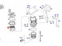Топливный фильтр-сепаратор двигателя трактора Fendt — F725200060020