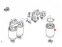 Топливный фильтр двигателя трактора Fendt — F816200060020