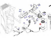 Топливный фильтр двигателя трактора Fendt — F842201060010
