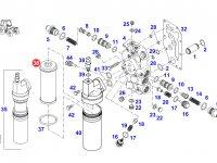 Фильтр давления гидроблока трактора Challenger — F916100600010