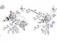 Генератор двигателя трактора Fendt — F920901010010