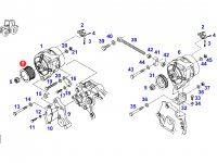 Шкив (ролик) ремня генератора двигателя трактора Fendt — F920901010020