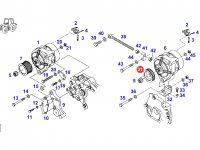 Шкив (ролик) ремня генератора двигателя трактора Fendt — F920901010030