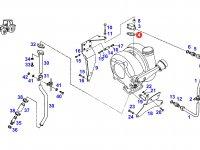 Прокладка турбокомпрессора двигателя трактора Fendt — F926200090120