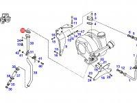 Прокладка турбокомпрессора двигателя трактора Fendt — F926200210190