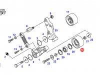 Натяжной ролик ремня двигателя трактора Fendt — F926202040030
