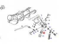 Сетчатый фильтр насоса ручной подкачки топлива трактора Fendt — F926202710680