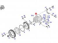 Топливный насос высокого давления (ТНВД) двигателя трактора Fendt — F926202710740