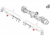 Рулевой наконечник трактора Fendt — F926301100020