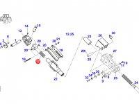 Головка/винт раскоса навески трактора Fendt — F926870030031