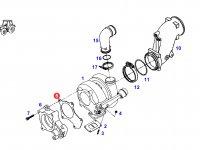 Прокладка турбокомпрессора двигателя трактора Fendt — F930200090040