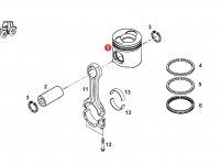Поршень двигателя трактора Fendt — F930200310010