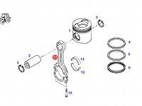 Шатун двигателя трактора Fendt — F930200310020
