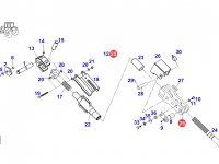 Вилка раскоса навески трактора Fendt — F930870030020