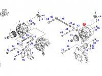Генератор двигателя трактора Fendt — F930900010030