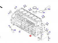 Блок двигателя трактора Fendt — F934201210040