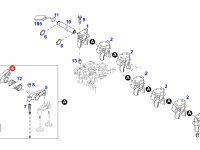 Коромысло(рокер) клапана двигателя трактора Fendt — F934201410170