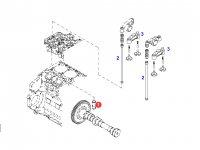 Толкатель клапана двигателя трактора Fendt — F934201410290