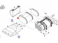 Воздушный фильтр двигателя трактора Fendt — F954200091010
