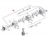 Насос гидравлический трактора Massey Ferguson — G701111490020