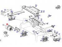 Вентилятор печки отопителя кондиционера кабины трактора Fendt — G716810130311