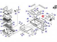 Вентилятор печки отопителя кондиционера кабины трактора Fendt — G816810130090