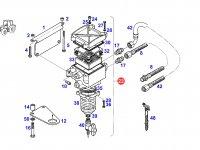 Топливный фильтр-сепаратор двигателя трактора Fendt (в сборе) — G916200060100