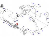 Фильтр гидравлического насоса трактора Fendt — G916951010010