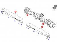 Рулевая тяга трактора Fendt — G926301100030