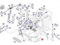 Топливный бак трактора Fendt — G930200060011