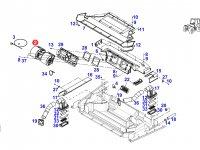 Вентилятор печки отопителя кондиционера кабины трактора Fendt — G930810140022