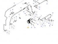 Компрессор кондиционера кабины трактора Massey Ferguson — G931552020011