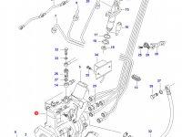 Топливный насос высокого давления (ТНВД) двигателя Sisu Diesel — 836854923