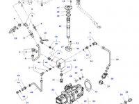 Конусный гидравлический фильтр трактора Massey Ferguson» — H178950010040