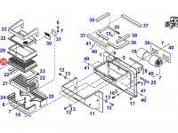 Фильтр отопителя кабины трактора Fendt — H260810140180