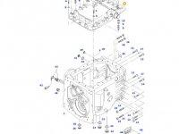 Крышка КПП трактора Massey Ferguson (DYNA VT/DYNA STEP) — H716100050014