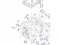 Крышка КПП трактора Challenger — H716100050014