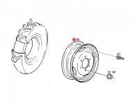 Колесный диск трактора Fendt — H816700014028