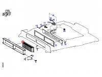 Фильтр кабины трактора Fendt — H816810140071