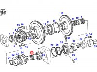 Вал отбора мощности (ВОМ) трактора Fendt — H822100220010