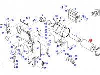 Воздушный фильтр двигателя трактора Fendt — H930200091100