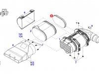 Вставка воздушного фильтра двигателя трактора Fendt — H931202090400