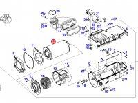 Фильтр воздушный кабины (салонный) трактора Fendt — H931812140600