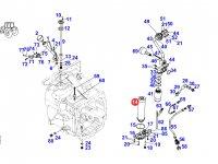 Обратный фильтр гидравлики трактора Fendt — H931860061102