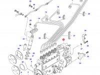 Топливный насос высокого давления (ТНВД) двигателя Sisu Diesel — 836840395