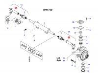 Наконечник рулевой тяги трактора — 37947900