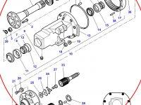 Бортовой редуктор заднего моста для тракторов Challenger — -